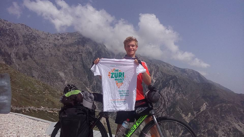 Cycling 3600km from Athens to Amsterdam for The Zuri Project andHerbert!