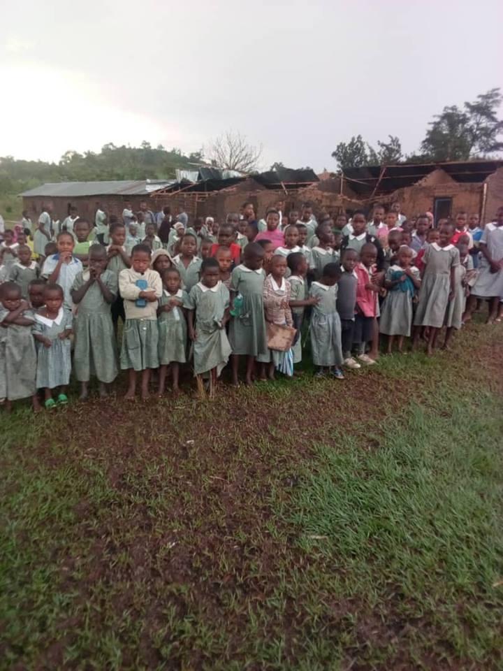 Kishunju Classrooms collapsed.jpg