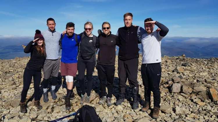 Zuri volunteers 3 peaks